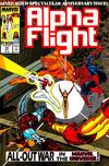 Cover for Alpha Flight (Marvel, 1983 series) #75