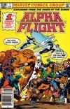 Cover Thumbnail for Alpha Flight (1983 series) #1 [Newsstand]