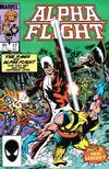 Cover for Alpha Flight (Marvel, 1983 series) #17 [Direct]