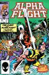 Cover for Alpha Flight (Marvel, 1983 series) #17 [Direct]