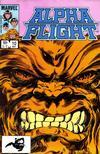 Cover for Alpha Flight (Marvel, 1983 series) #10 [Direct]
