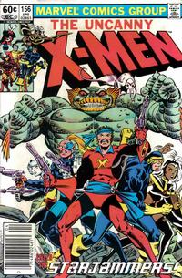 Cover Thumbnail for The Uncanny X-Men (Marvel, 1981 series) #156 [Newsstand]