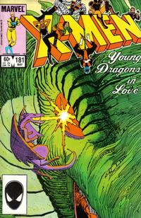 Cover Thumbnail for The Uncanny X-Men (Marvel, 1981 series) #181 [Direct Edition]