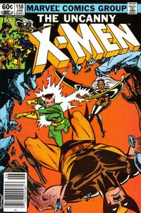 Cover Thumbnail for The Uncanny X-Men (Marvel, 1981 series) #158