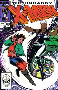 Cover Thumbnail for The Uncanny X-Men (Marvel, 1981 series) #180 [Direct Edition]