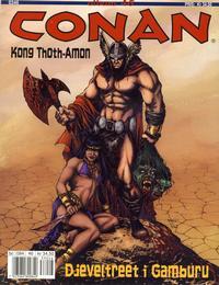 Cover Thumbnail for Conan album (Bladkompaniet / Schibsted, 1992 series) #46 - Kong Thoth-Amon