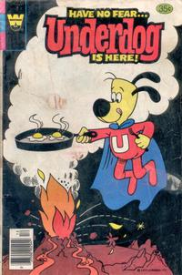 Cover Thumbnail for Underdog (Western, 1975 series) #22 [Whitman Variant]