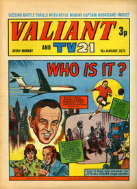 Cover Thumbnail for Valiant and TV21 (IPC, 1971 series) #15th January 1972