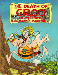 Cover Thumbnail for Epic Graphic Novel: The Death of Groo (Marvel, 1987 series)