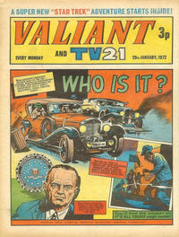 Cover Thumbnail for Valiant and TV21 (IPC, 1971 series) #29th January 1972