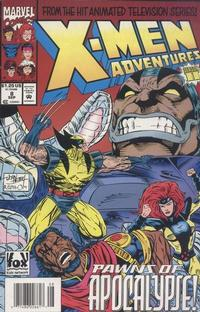 Cover Thumbnail for X-Men Adventures [II] (Marvel, 1994 series) #8 [Newsstand Edition]
