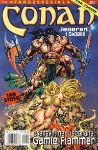 Cover Thumbnail for Conan spesial [Conan fargespesial] (Bladkompaniet / Schibsted, 1999 series) #1/2001