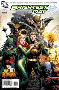 Cover Thumbnail for Brightest Day (DC, 2010 series) #3 [Standard Cover]