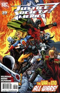Cover Thumbnail for Justice Society of America (DC, 2007 series) #39