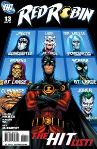 Cover Thumbnail for Red Robin (DC, 2009 series) #13