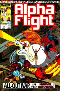Cover for Alpha Flight (Marvel, 1983 series) #75