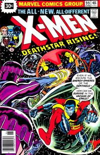 Cover Thumbnail for The X-Men (Marvel, 1963 series) #99 [30¢]