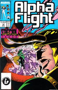 Cover Thumbnail for Alpha Flight (Marvel, 1983 series) #50 [Direct Edition]