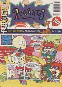 Cover Thumbnail for Rugrats (Panini UK, 1996 series) #8
