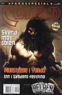 Cover for Conan spesial [Conan fargespesial] (Bladkompaniet, 1999 series) #2/2002
