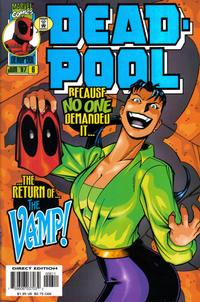 Cover Thumbnail for Deadpool (Marvel, 1997 series) #6 [Direct Edition]