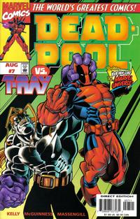 Cover Thumbnail for Deadpool (Marvel, 1997 series) #7 [Direct Edition]