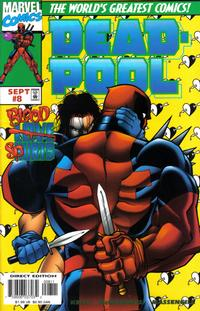 Cover Thumbnail for Deadpool (Marvel, 1997 series) #8 [Direct Edition]