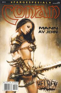 Cover for Conan spesial [Conan fargespesial] (Bladkompaniet / Schibsted, 1999 series) #1/2003