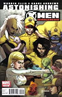 Cover Thumbnail for Astonishing X-Men: Xenogenesis (Marvel, 2010 series) #2