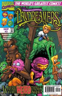 Cover Thumbnail for Daydreamers (Marvel, 1997 series) #2 [Direct Edition]