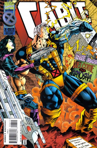Cover for Cable (Marvel, 1993 series) #26 [Newsstand Edition]