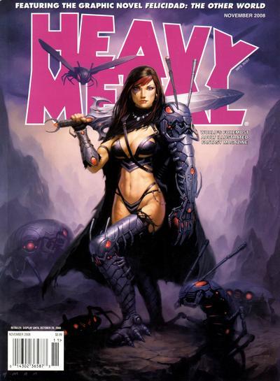 Cover for Heavy Metal Magazine (Heavy Metal, 1977 series) #v32#7