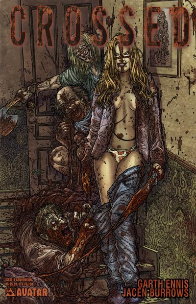 Cover for Crossed (Avatar Press, 2008 series) #9