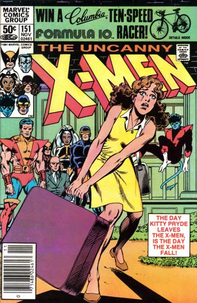 Cover for The Uncanny X-Men (Marvel, 1981 series) #151 [Direct Edition]