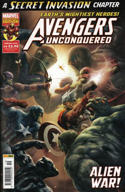 Cover for Avengers Unconquered (Panini UK, 2009 series) #19