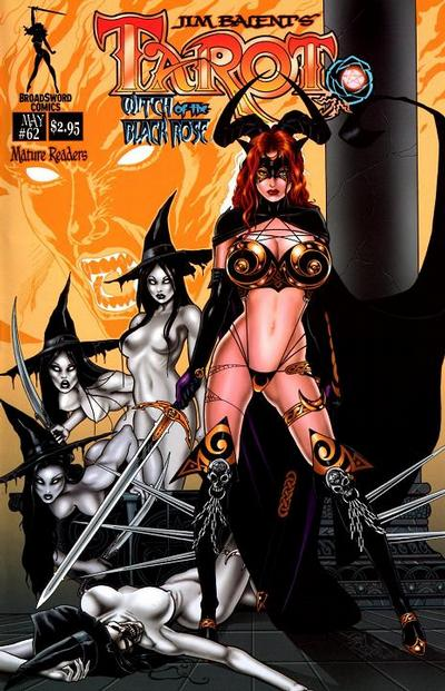Cover for Tarot: Witch of the Black Rose (Broadsword, 2000 series) #62
