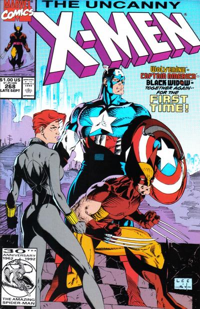 Cover for The Uncanny X-Men (Marvel, 1981 series) #268