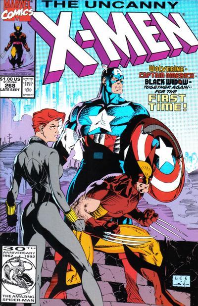 "Cover for The Uncanny X-Men (Marvel, 1981 series) #268 [J.C. Penny ""Vintage"" Variant]"