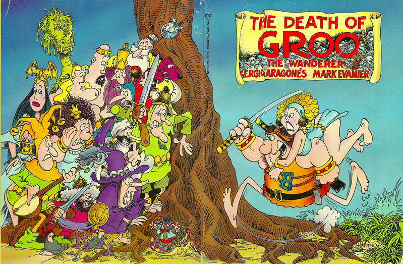 Cover for Epic Graphic Novel: The Death of Groo (Marvel, 1987 series)