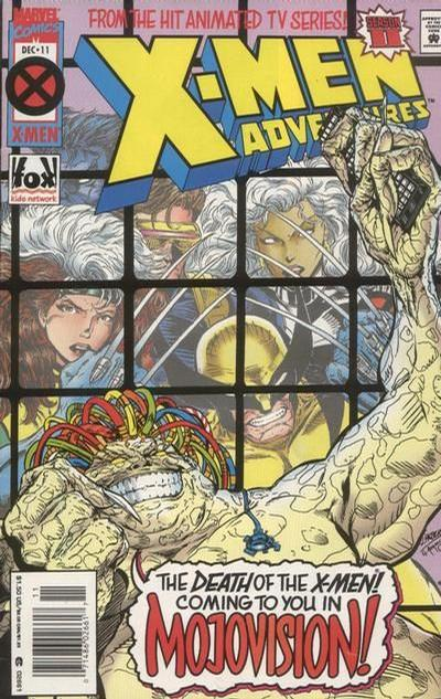 Cover for X-Men Adventures [II] (Marvel, 1994 series) #11 [Newsstand Edition]
