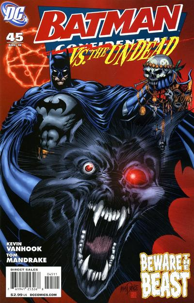 Cover for Batman Confidential (DC, 2007 series) #45