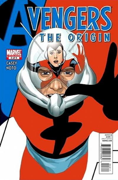 Cover for Avengers: The Origin (Marvel, 2010 series) #3