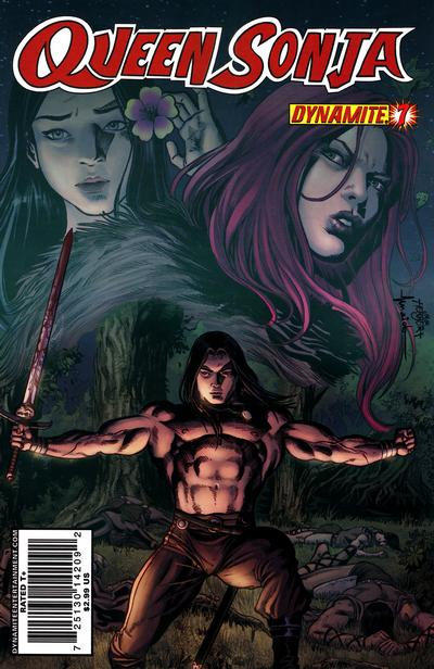 Cover for Queen Sonja (Dynamite Entertainment, 2009 series) #7 [Jackson Herbert Cover]