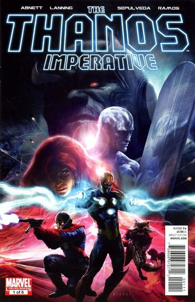 Cover for The Thanos Imperative (Marvel, 2010 series) #1