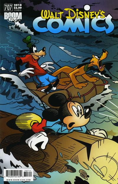 Cover for Walt Disney's Comics and Stories (Boom! Studios, 2009 series) #707 [Cover A]