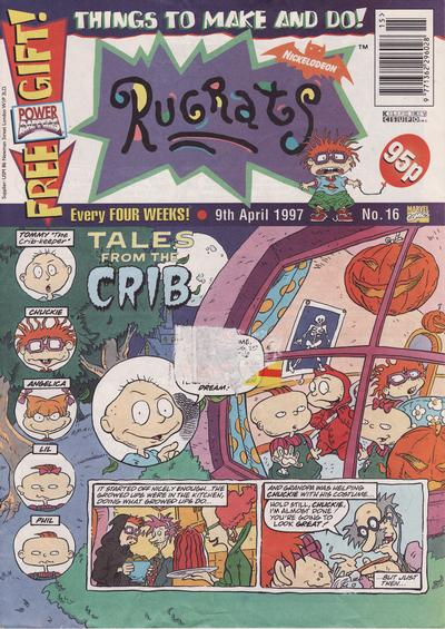 Cover for Rugrats (Panini UK, 1996 series) #16
