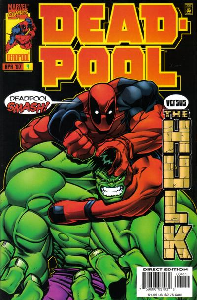 Cover for Deadpool (Marvel, 1997 series) #4 [Direct Edition]