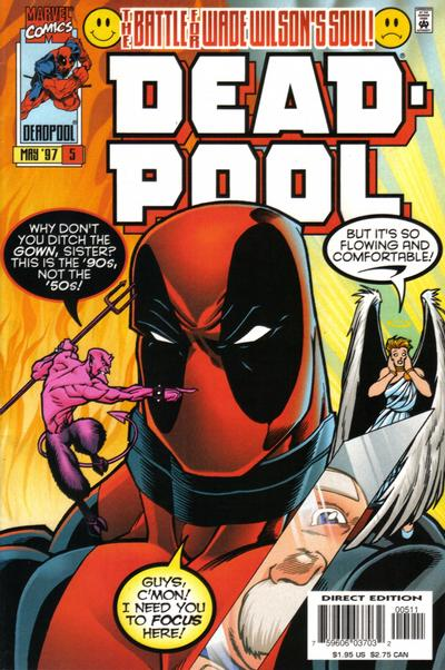 Cover for Deadpool (Marvel, 1997 series) #5 [Newsstand Edition]