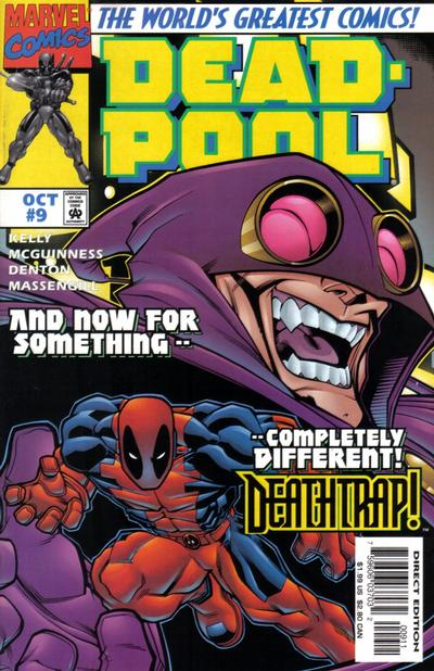 Cover for Deadpool (Marvel, 1997 series) #9 [Newsstand Edition]