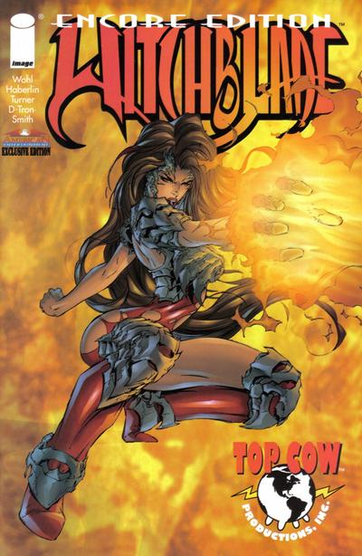 Cover for American Entertainment: Encore Edition of Witchblade (Image, 1997 series) #2